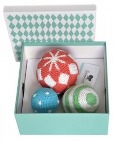 Littlephant Crochet play balls - Circus